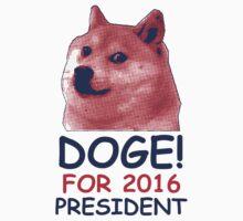 Doge For President by designsbybri