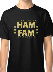 Broadway's Alexander Hamilton: Ham Fam Classic T-Shirt