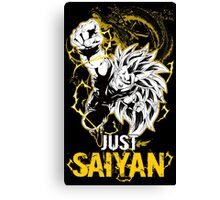 Super Saiyan Goku Shirt - RB00035 Canvas Print