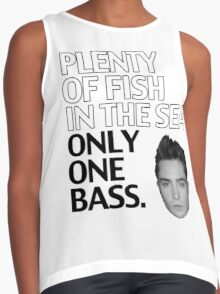 Plenty of Fish in the Sea. Only One Bass.  Contrast Tank