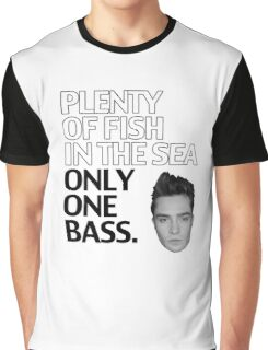 Top Seller - Gossip Girl: Plenty of Fish in the Sea. Only One Bass.  Graphic T-Shirt