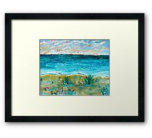 A Gleam of Attaction Framed Print