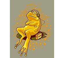 FROGGIE IN RELAX MODE Photographic Print
