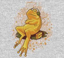 FROGGIE IN RELAX MODE One Piece - Long Sleeve