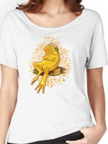 FROGGIE IN RELAX MODE Women's Relaxed Fit T-Shirt