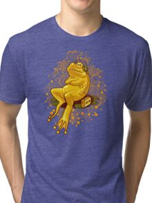 FROGGIE IN RELAX MODE Tri-blend T-Shirt