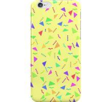 Confetti on Yellow (pattern) iPhone Case/Skin