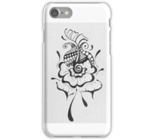 Mehndi inspired design iPhone Case/Skin