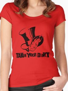 Persona 5 - Take Your Heart Women's Fitted Scoop T-Shirt