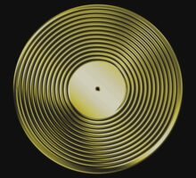 Vinyl LP Record - Metallic - Gold by graphix