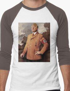 Trump is Hitler Men's Baseball ¾ T-Shirt