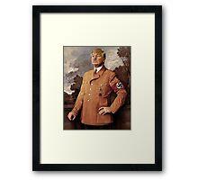 Trump is Hitler Framed Print
