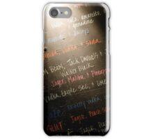 Blackboard Cocktails iPhone Case/Skin