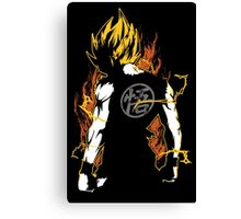 Super Saiyan Goku Shirt - RB00032 Canvas Print