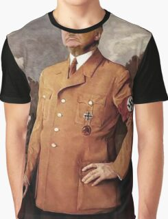 Trump is Hitler Graphic T-Shirt