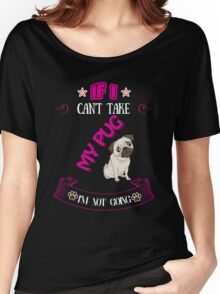 i'm not going  Women's Relaxed Fit T-Shirt
