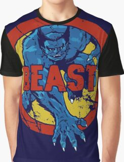 Beast •X-Men Logo Graphic T-Shirt