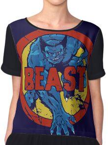 Beast •X-Men Logo Chiffon Top