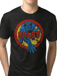 Beast • X-Men Logo Tri-blend T-Shirt