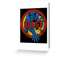 Beast • X-Men Logo Greeting Card