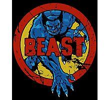 Beast •X-Men Logo Photographic Print