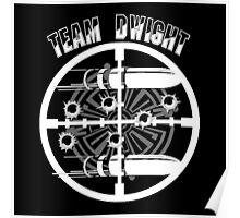 Haven Team Dwight Bullet Magnet White Logo Poster