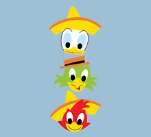 Three Caballeros Unisex T-Shirt