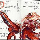 Octopus study by Cameron Hampton