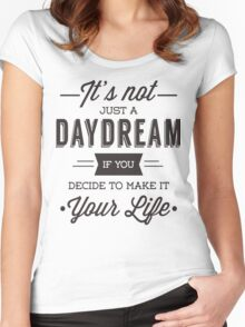 Day Dreams Women's Fitted Scoop T-Shirt