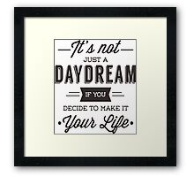 Day Dreams Framed Print