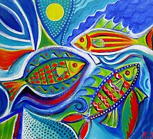 Fish for fun by Karin Zeller