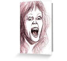 miss vampire Greeting Card