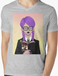 Girls read comics too! Akira Mens V-Neck T-Shirt