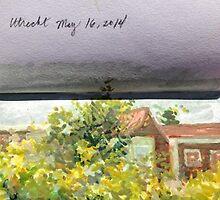 Sketchbook - Utrecht, Holland May 16, 2014 by Cameron Hampton
