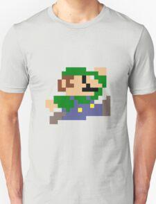 Luigi jumping - pixel art Unisex T-Shirt