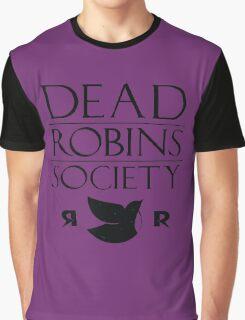 DEAD ROBINS SOCIETY (Stephanie ver.) Graphic T-Shirt