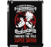 Super Saiyan Goku - RB00029 iPad Case/Skin
