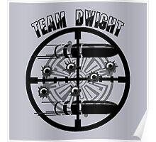 Haven Team Dwight Bullet Magnet Black Logo Poster