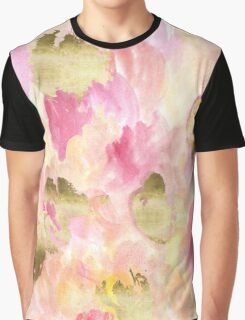 Gold Tulips Graphic T-Shirt