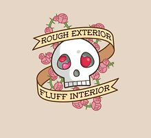 ROUGH EXTERIOR, FLUFF INTERIOR Unisex T-Shirt