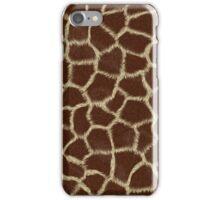 Giraffe fur iPhone Case/Skin