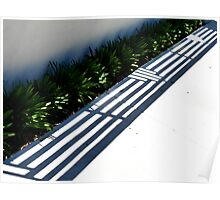 Footpath Patterns Poster