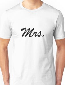 Mrs. Unisex T-Shirt