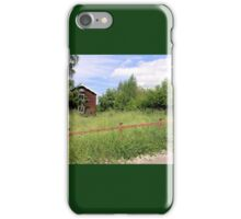 Redwood Fence iPhone Case/Skin