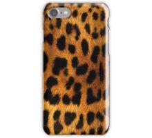 Cheetah fur iPhone Case/Skin