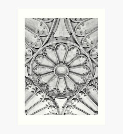 Oxford Designs  Art Print