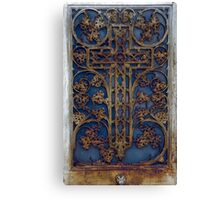 Rusted Cross Canvas Print