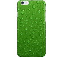 Green apple texture iPhone Case/Skin