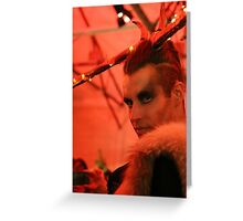 Dark Mofo Winter Feist 2014 Reindeer man 2 Greeting Card