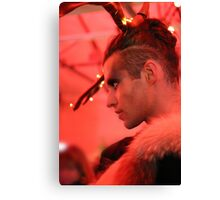 Dark Mofo Winter Feist 2014 Reindeer man 3  Canvas Print